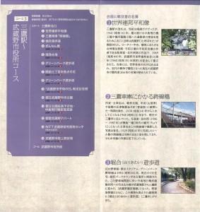 三鷹駅~武蔵野市役所コース
