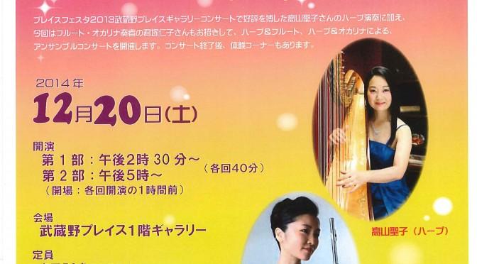 ハープコンサート2014