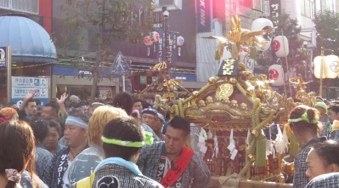9/12,13開催!担ぎ手の熱気伝わる『吉祥寺秋まつり』。その姿は壮大で壮観。