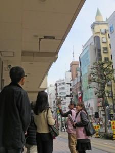 東急百貨店前