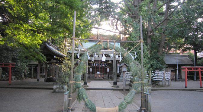 杵築大社で夏越しの大祓祭