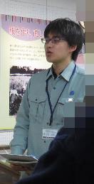 「武蔵野のくらし今昔―昭和の衣・食・住―」を企画された波田(はだ)学芸員。穏やかそうな印象ですが、その語りには熱い「民俗愛」が見え隠れ。小学生はもちろんオトナ女子にも大人気のことでしょう。