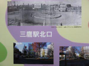 三鷹駅北口の銀杏の成長ぶりに元気づけられます。