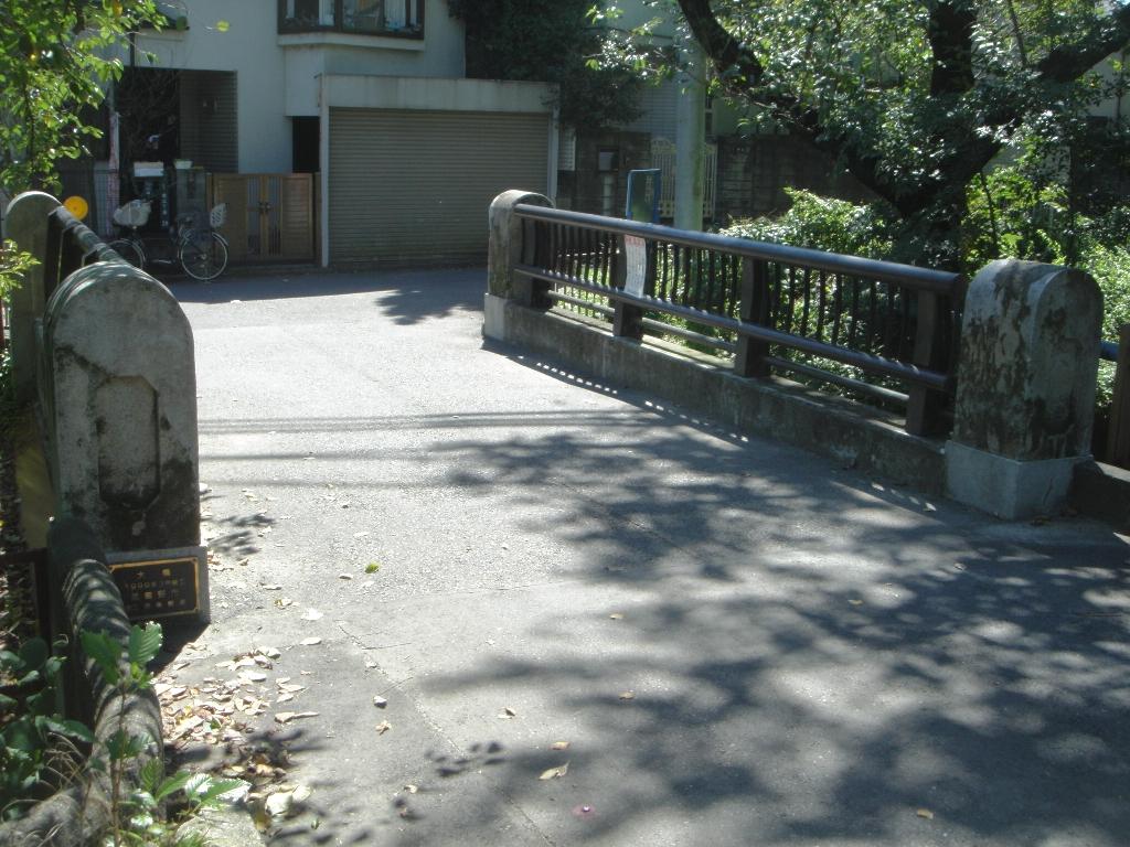 古い「大橋」。2016年8月、市民の米田利民氏撮影