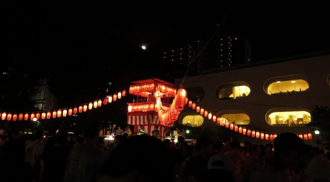 【盆踊りに行って来ました♬】サンロード月窓寺門前市夏まつり & 境南盆おどり