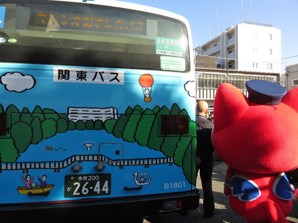 【む~観photoギャラリー📷】キンシオむさしのバス お披露目会に行って来ました☀