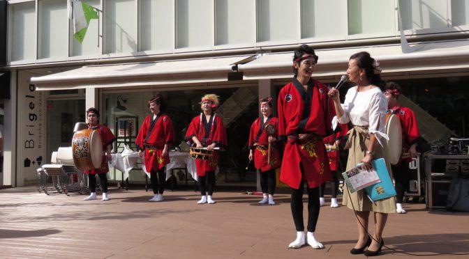 【動画あり🎥】む~観親善大使「寶船」が吉祥寺ビューティーフェスティバルでパフォーマンスを行いました!