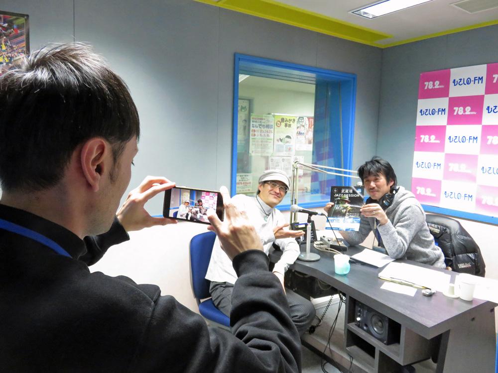 """12/11″Talking Loud""""に、『第16回武蔵境JAZZ SESSION』に出演する渡辺隆雄さんが登場しました♬"""