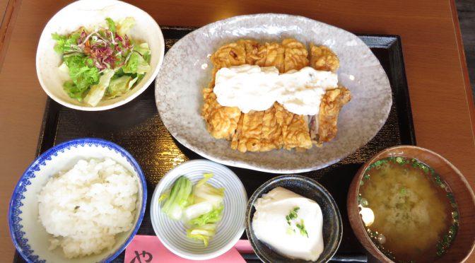 【今日のランチ】チキン南蛮定食/やぐやKICHIJOJI