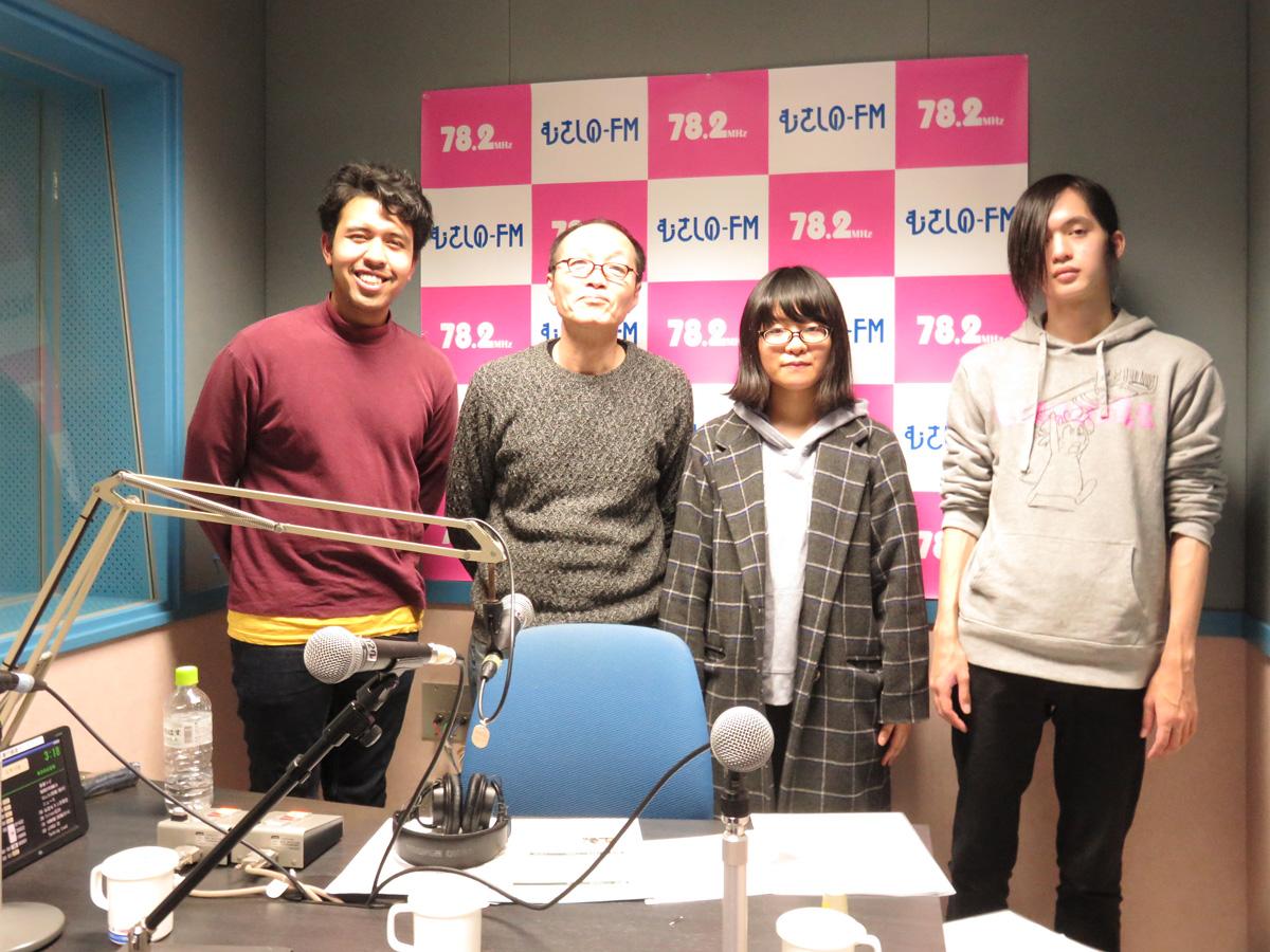 """むさしのFM″Talking Loud""""に『第16回武蔵境JAZZ SESSION』に出演する「亜細亜大学軽音学部 ELECTRIC ASIAN QUARTET」が登場しました♬"""