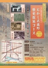 むさしのまち歩き「むかし武蔵野歴史散策コース」