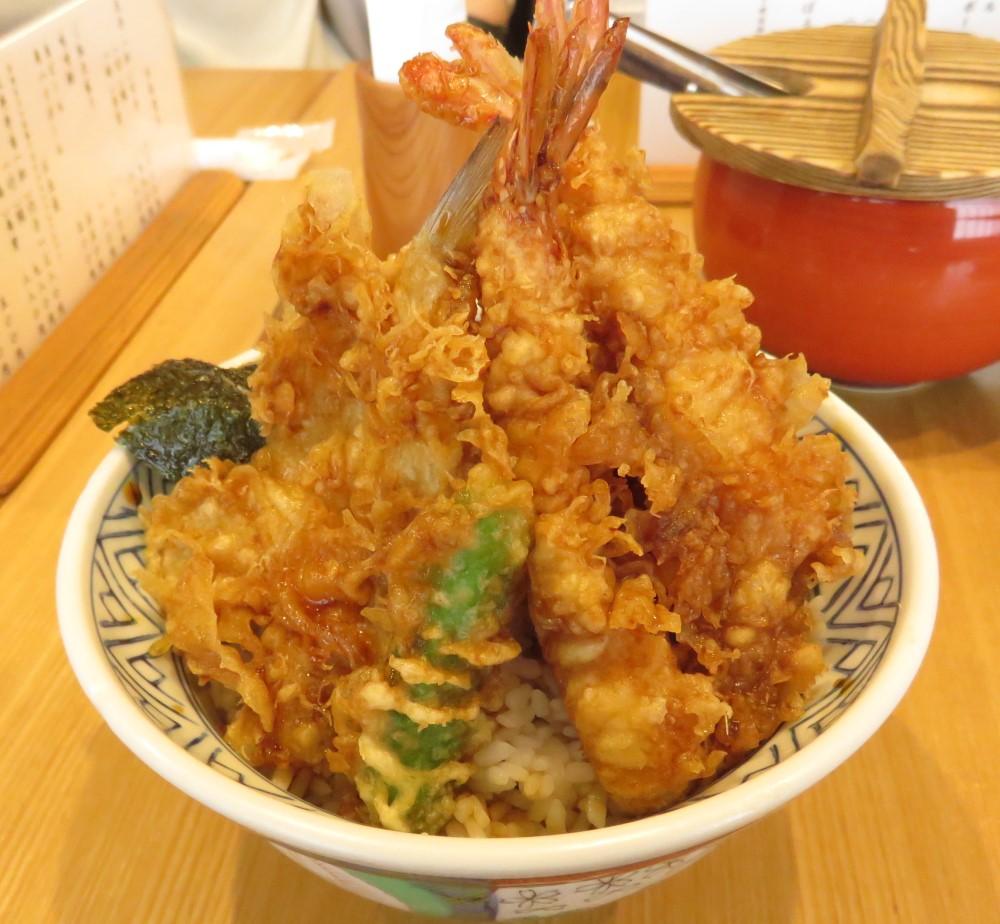 【ランチレポート】天丼・天ぷら飯「金子屋」