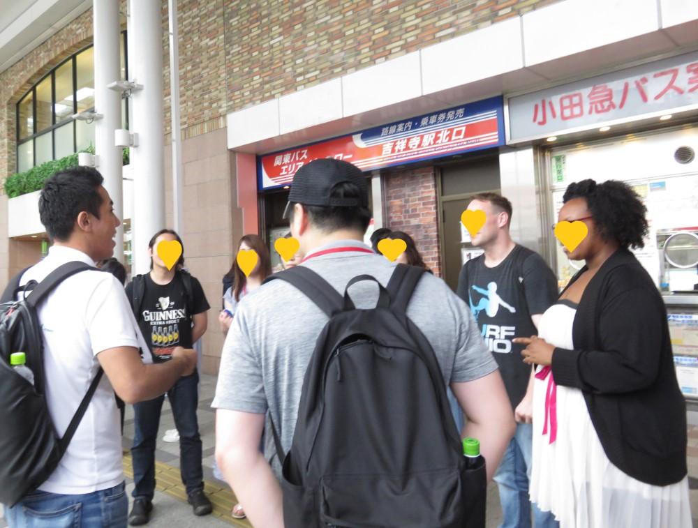 外国人のお客様向け吉祥寺体験モニターツアー