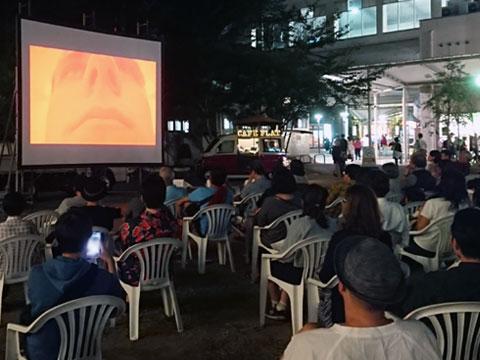 映像と食で体験する夏の終わりの夕べ「ルーマニア野外映像祭」に行ってきました♪