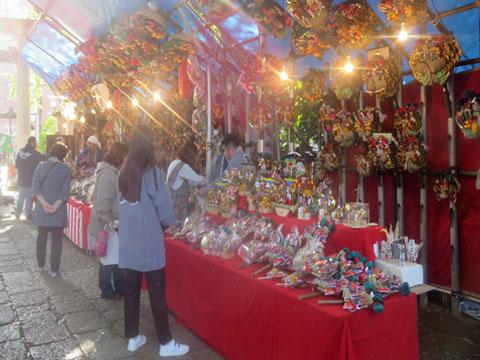 武蔵野八幡宮 大酉祭