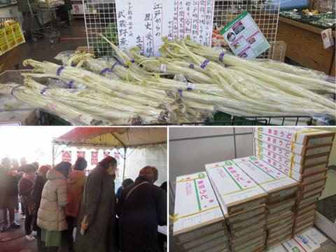 春を告げる江戸東京野菜「東京うど」 うどの品評会・即売会♪