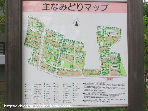 サンヴァリエ桜堤/みどりのマップ