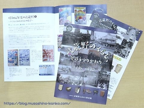 移り変わりを楽しもう。武蔵野ふるさと歴史館『武蔵野のくらし、そのうつりかわり』