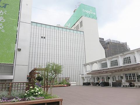 コピス吉祥寺A館3階屋上に「GREENING広場」がオープン!
